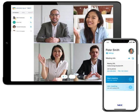 UNIVERGE BLUE® Video Conferencing